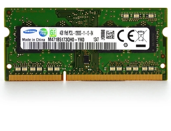 7000 7447 7557 7559 sąsiuvinis DDR3L 1600 4G atminties baras